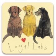 koelkastmagneet alex clark - loyal labs - honden