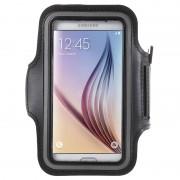 Braçadeira Sport Gym para Samsung Galaxy S7, Galaxy S6, Galaxy S6 Edge - Preto