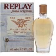 Replay jeans original for her eau de toilette 20ml spray