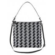 Tizian Shopper aus hochwertigem Soft- und Textilmaterial, schwarz