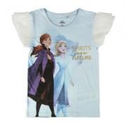 Disney Frost Elsa och Anna T-shirt (6 - 116 CM)