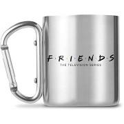 Friends - Logo - fém bögre karabinerrel