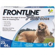 Frontline Plus Value 6pk Dogs 23-44lbs by MERIAL