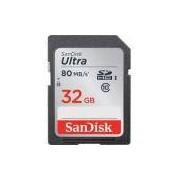 Cartao De Memoria Sdhc 32gb Sandisk Ultra 80mb/S