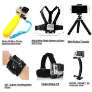 Action Pro !!! 6 in 1 Gopros accessories in Combo