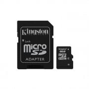 Kingston memoria 8GB microSDHC Class 4 Flash Card