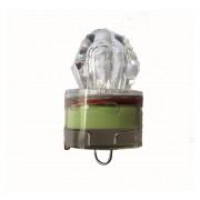 Cocodeal LED Gota De Profundidad Bajo El Agua Intermitente Pesca De Diamantes RD Luz Cebo De Señuelo De Calamar-verde