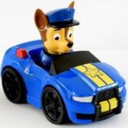 Figurina Chase in masinuta de politie Patrula Catelusilor