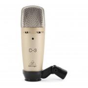 Micrófono De Condensador Behringer C-3-Dorado