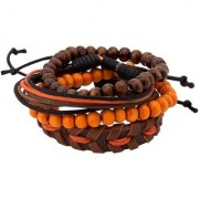 Dare by Voylla Cool Stacked Pack Of 4 Bracelets