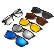 Osilor Spectacle Sunglasses(Grey, Yellow, Brown, Blue, Silver)