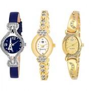 Swadesi Stuff BANGLE Multi DIAL ELEGANCE NEW ARRIVAL Luxury Ethnic Multi Bracelet Look Watch - for Women Girls kc16