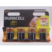 Duracell AA LR6 Duralock 1.5V MN1500 baterii alcaline blister 8