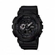 Casio bebe-G G-Shock Serie Tandem BA-110BC-1ADR-Negro