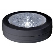 Star Trading Batteridriven lampa 3-pack 7cm svart 5lm 3000K 3xAAA