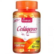 Colágeno + VItamina C (1000 mg) - 100 Comprimidos + 10 Grátis - Tiaraju