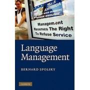 Language Management by Bernard Spolsky