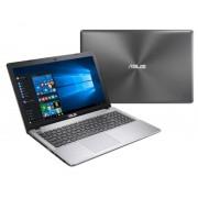 """ASUSTEK ASUS R510VX-DM439T ordenador portatil Gris, Acero inoxidable Portátil 39,6 cm (15.6"""") 1920 x 1080 Pixeles 2,6 GHz 6ª generación"""