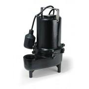 ECO-FLO Products ESE40M bomba manual de hierro fundido para alcantarillado, Automatic, 0.5 HP