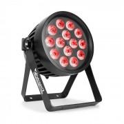 Beamz Professional BWA 510, Aluminium, IP65, LED Par, LED reflektor, 14 x 15 W 4 az 1-ben LED dióda, RGBW, fekete (Sky-150.772)