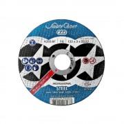 Disc abraziv debitare metal Swaty Comet Professional 115x1.0 mm, 10 discuri in cutie metalica