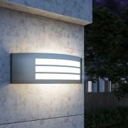 vidaXL Лампа за външна стена, неръждаема стомана