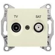 SEDNA TV-R-SAT aljzat átmenő 1 db Bézs SDN3401947 - Schneider Electric