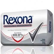 Sabonete em Barra Rexona Antibacteriano Fresh 84g
