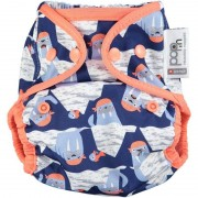Close Parent Cobertor de pañal Walrus Corchetes Close Parent