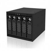 "Raidsonic IcyBox IB-555SSK 5xSATA/SAS 3.5"" HDD Black"