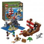 LEGO Minecraft Avontuur op het piratenschip - 21152