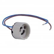 Halogen socket for recessed lights