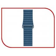 Аксессуар Ремешок APPLE Watch 44mm Leather Loop Large Cape Cod Blue MTHA2ZM/A