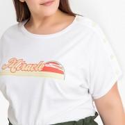 CASTALUNA Bedrucktes T-Shirt mit rundem Ausschnitt