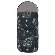 Nuvita Smart sac de iarna 100 cm - Black Airplanes Grey 9585