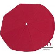 Sombrilla Lisa roja