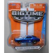 Jada Bigtime Muscle 1/64 Blue 70 Ford Mustang Boss 429