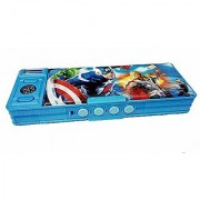 Password Protected Avengers Style Geometry Box