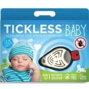 Tickless Ultrahangos kullancsriasztó baby fehér