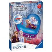 Puzzle 3D Ravensburger - Cutie Inima Frozen II, 54 piese