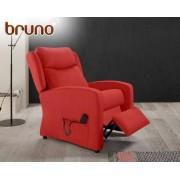 HOME Sillón relax de tela Bruno