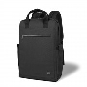 WIWU Waterproof Laptop Bag Multi-function Large Capacity Traveling Backpack - Black