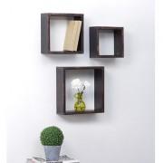 Onlineshoppee Home Decor Premium Solid Wood Shelf Rack Wall Bracket handicraft d