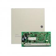 Centrala alarma antiefractie DSC Power PC 1864 cu cutie metalica, 8 partitii, 8-64 zone, 95 utilizatori