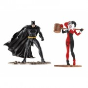 DC Comics Justice League Batman vs Harley Quinn 10 cm