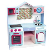 ItsImagical 87608 Provence Window Wooden Kitchen for Kids