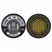 Tapis gramophone (ensemble de 2 pcs) Bring Me The Horizon - Sheffield UK - RAZAMATAZ - SM020