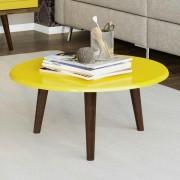 Mesa de Centro Brilhante - Amarelo - Móveis Bechara
