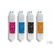 Ecotronic Комплект фильтров для пурифайеров Ecotronic с UF мембраной(12 дюймов)
