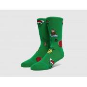 Stance Xmas Ornaments Socks, grön